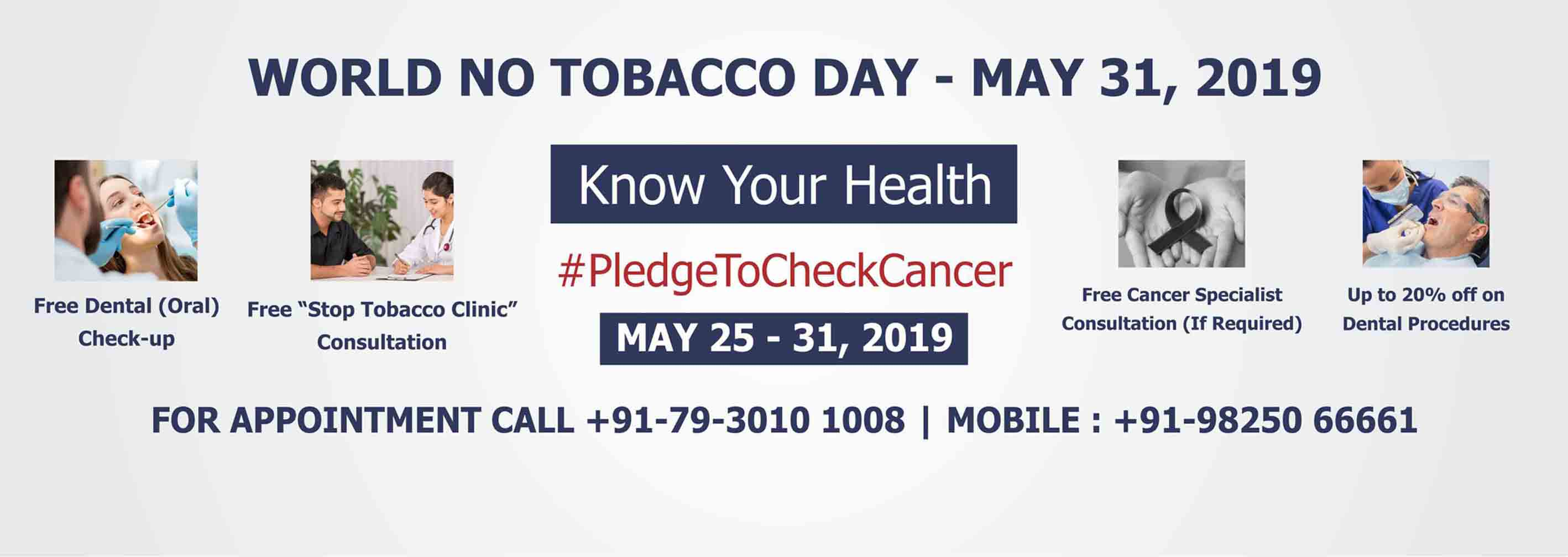 World No Tobacco Day May 2019